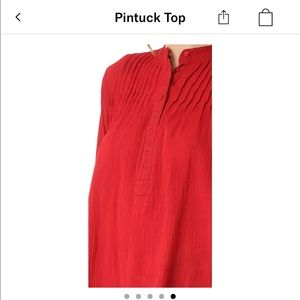 THE GREAT. Tops - This is THE GREAT pintuck top